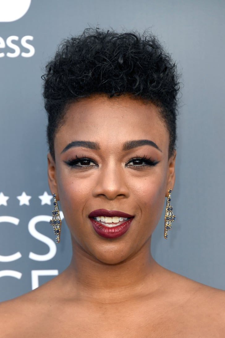 Samira Wiley At The 2018 Critics Choice Awards Natural