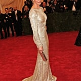 Cameron Diaz stepped onto the red carpet wearing Stella McCartney at the Met Gala.