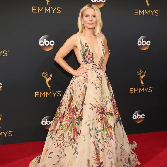 Kristen Bell Wearing Zuhair Murad at the Emmys 2016