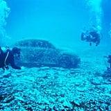 Go Scuba Diving in the Cancun Underwater Museum