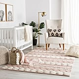 Pink and Ivory Docia Rug