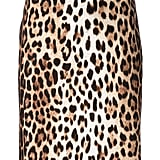 Moschino Cheap & Chic Leopard-Print Pencil Skirt