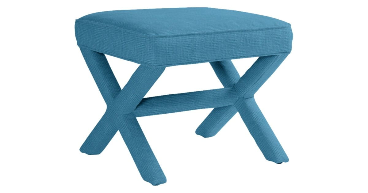 Serena And Lily Parker X Bench 795 Aqua Blue Decor