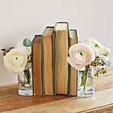 Vase Bookends ($40)