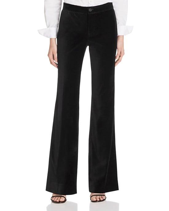 Lauren Ralph Lauren Velvet Flared Pants
