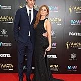 Pictures of Isla Fisher and Sacha Baron Cohen at 2016 AACTAs