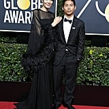 In January 2018, Angelina kicked off the new year by attending the Golden Globe Awards in LA with her son, Pax, by her side.