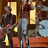 Tim McGraw performed at the CMAs.