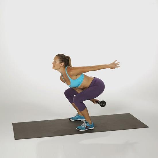 Exercise Kettlebell Figure Eight: POPSUGAR Fitness