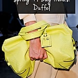 Spring Bag Trend No. 2: Duffel