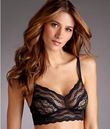 This is a classic black bralette that will go with everything, and it's a great price. b.tempt'd by Wacoal lace bralette ($18)