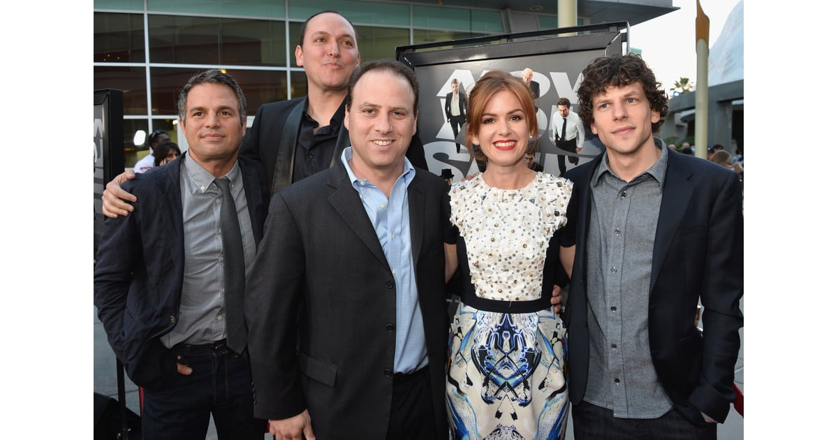 The Cast Of Now You See Me Posed Together At The Screening