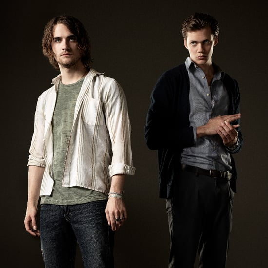 Hemlock Grove Interview With Bill Skarsgard, Landon Liboiron