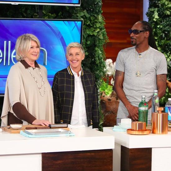 Martha Stewart and Snoop Dogg Taste Test on the Ellen Show