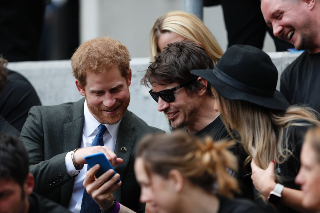 Prince Harry at Army Navy Rugby Match May 2017