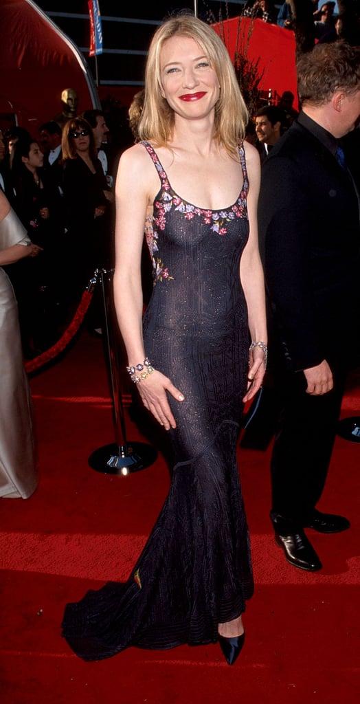 Cate Blanchett in John Galliano at the 1999 Oscars