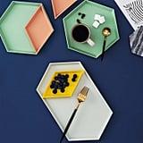 Unikon Geometric Serving Trays