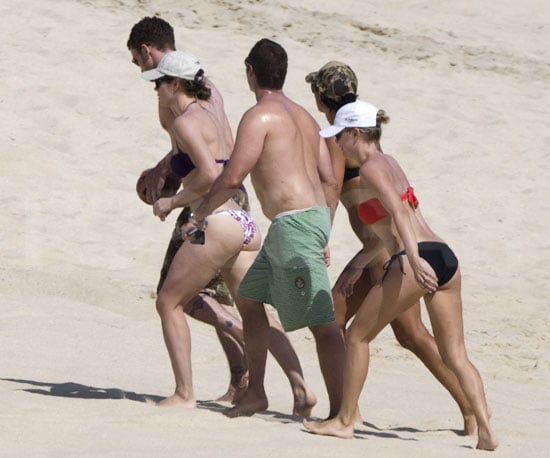 Photos of Jessica Biel in a Bikini with Justin Timberlake