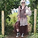 Portia Freeman at Glastonbury 2016