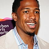 Nick Cannon posed at the Project Canvas Exhibition & Art Gala in NYC.