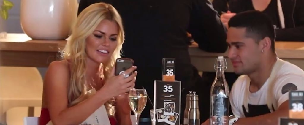 Video of Sophie Monk Pranking Waiter