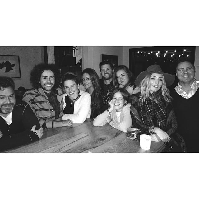 """Sophia Bush celebrated her annual """"Chrismukkah"""" dinner with friends."""