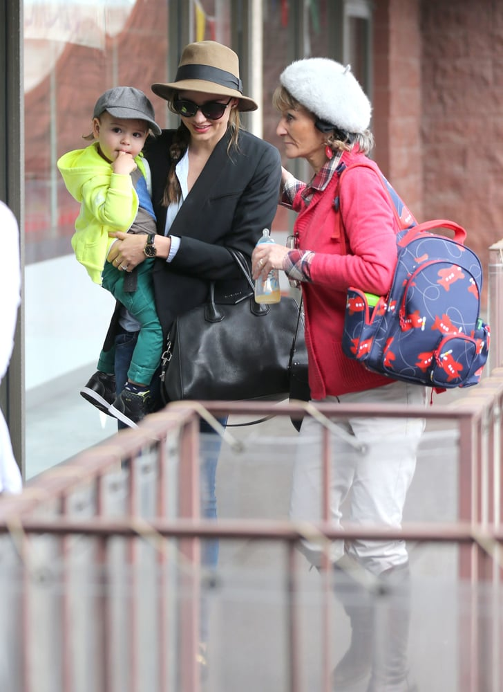 Miranda Kerr and Her Mother-in-Law Monkey Around With Flynn