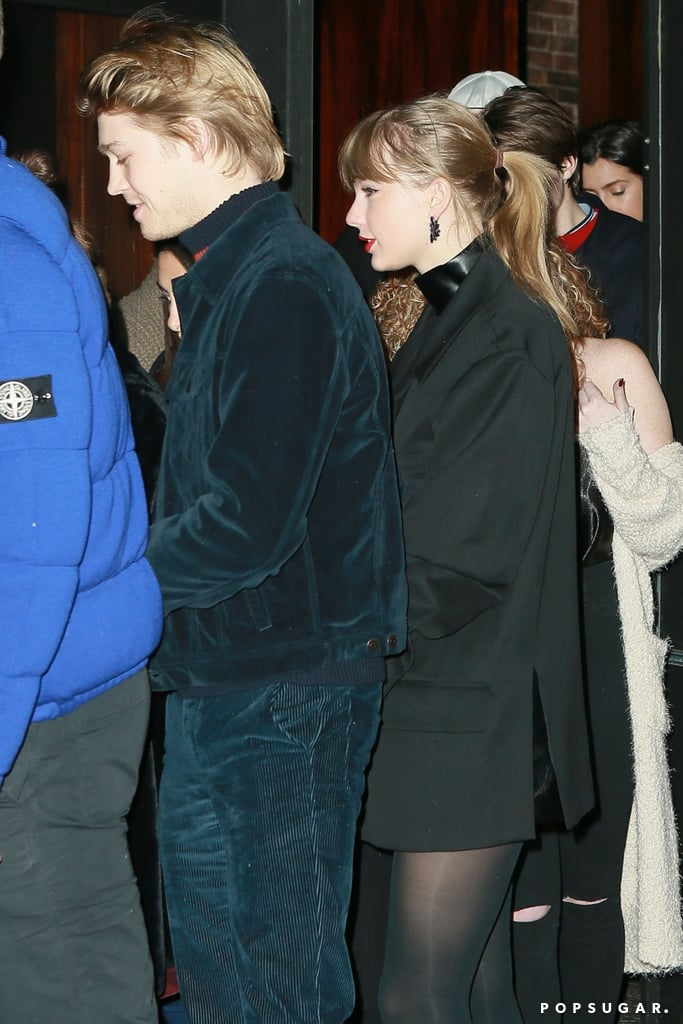 """Taylor Swift and Joe Alwyn first started dating in late 2016, and they've been extremely private about their romance ever since. While the singer has never publicly discussed her relationship with the British actor (except for in her songs, of course), she has given us a few glimpses of their real-life love story from time to time.  Aside from showing PDA during a few casual dates, Joe was front and centre for the opening night of Taylor's Reputation stadium tour in Glendale, AZ. She even serenaded him while singing """"Gorgeous"""" on stage. While they may not be making their relationship red carpet official anytime soon, it's pretty clear from their few outings that Joe is the king of Taylor's heart. Call it what you want, but these two are pretty adorable together. See some of their cutest moments ahead.       Related:                                                                                                           A Full Rundown of Taylor Swift's Hollywood Dating History"""