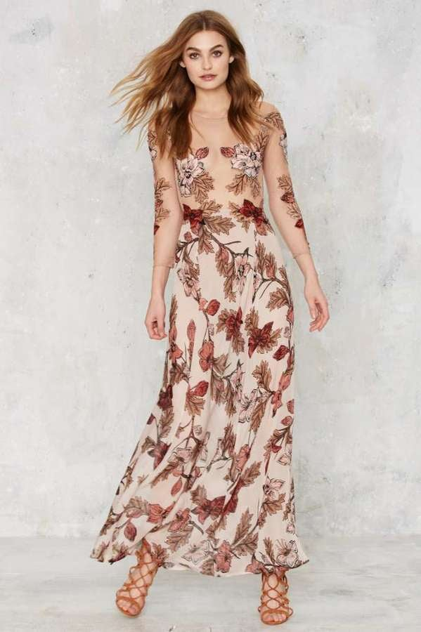 291ffae29c4 For Love   Lemons Sierra Silk Maxi Dress ( 328)
