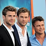 What It Was Like to Get Ready With the Hemsworth Brothers