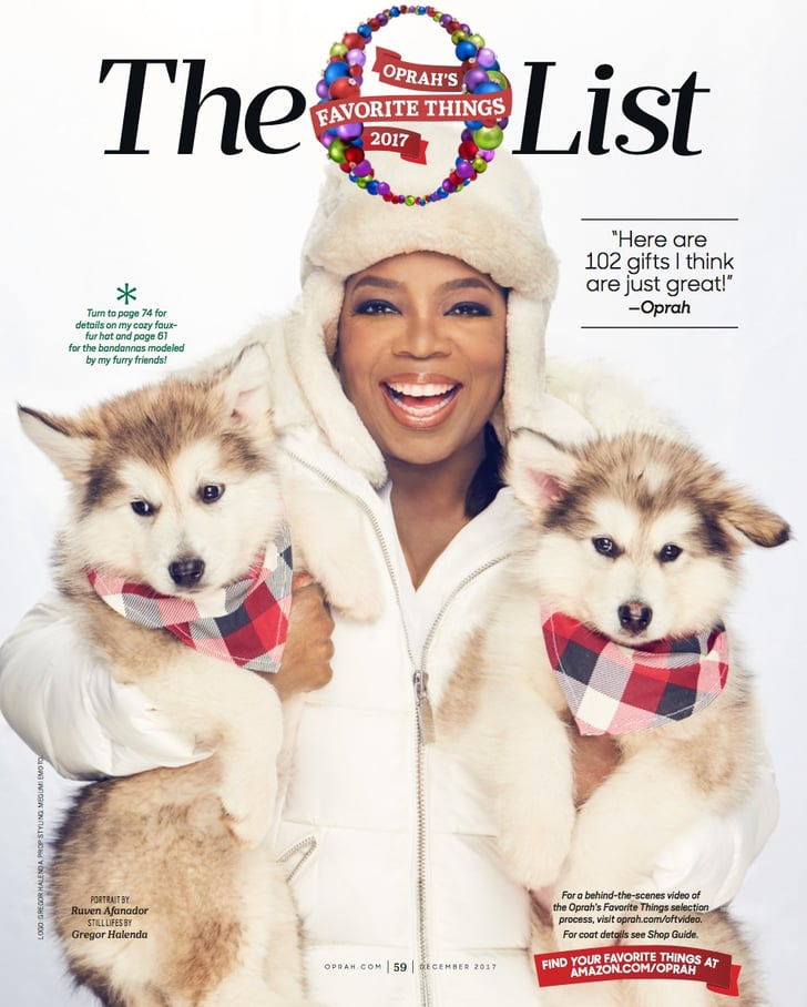 Oprahs Christmas List 2020 Oprah's Favorite Things List 2017   POPSUGAR Family
