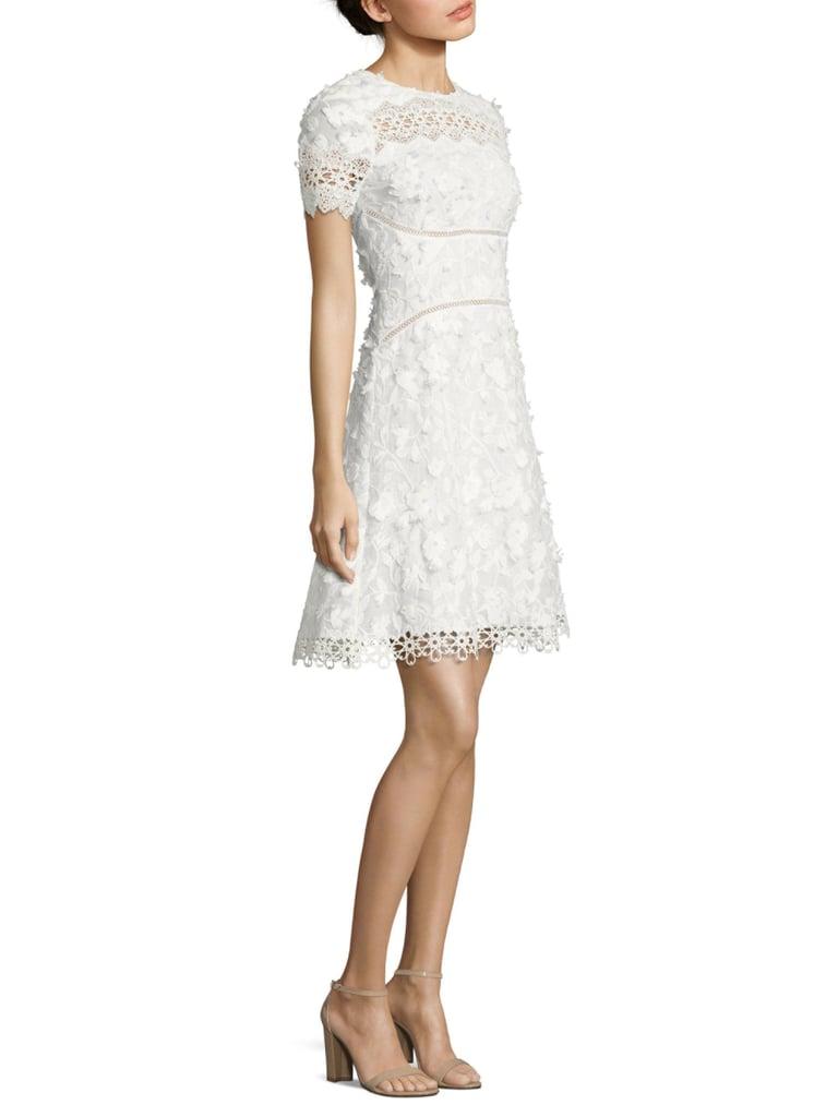 5cb0b1ff7912 Elie Tahari Adina Embroidered A-Line Dress | Casual Wedding Dresses ...