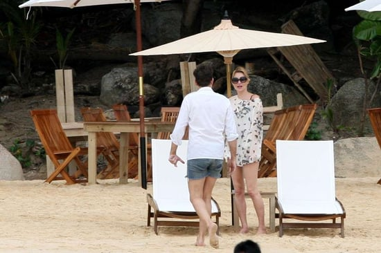 Pictures of Kate Moss and Jamie Hince on Vacation in Thailand