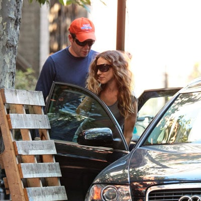 Sarah Jessica Parker and Matthew Broderick Pack Up the Car