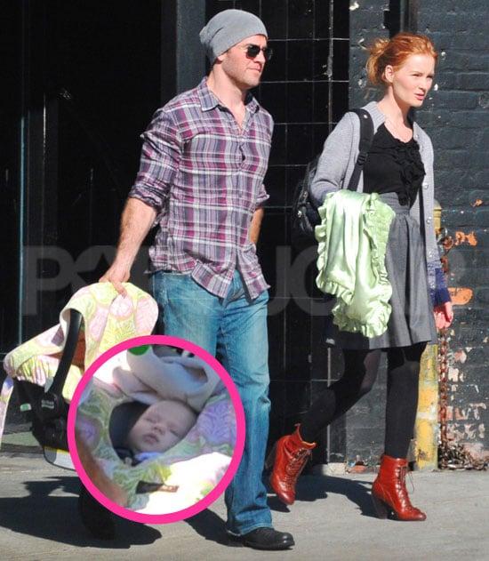 Pictures of James Van Der Beek Baby