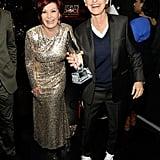 Sharon Osbourne and Ellen DeGeneres