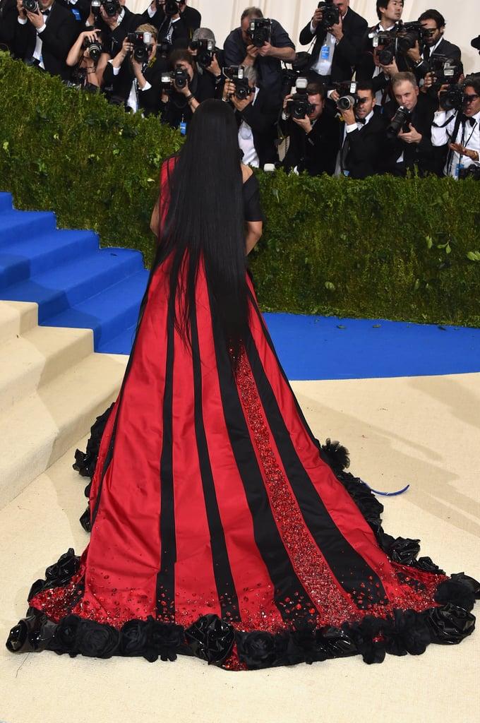 Nicki Minaj H&M Dress at the 2017 Met Gala