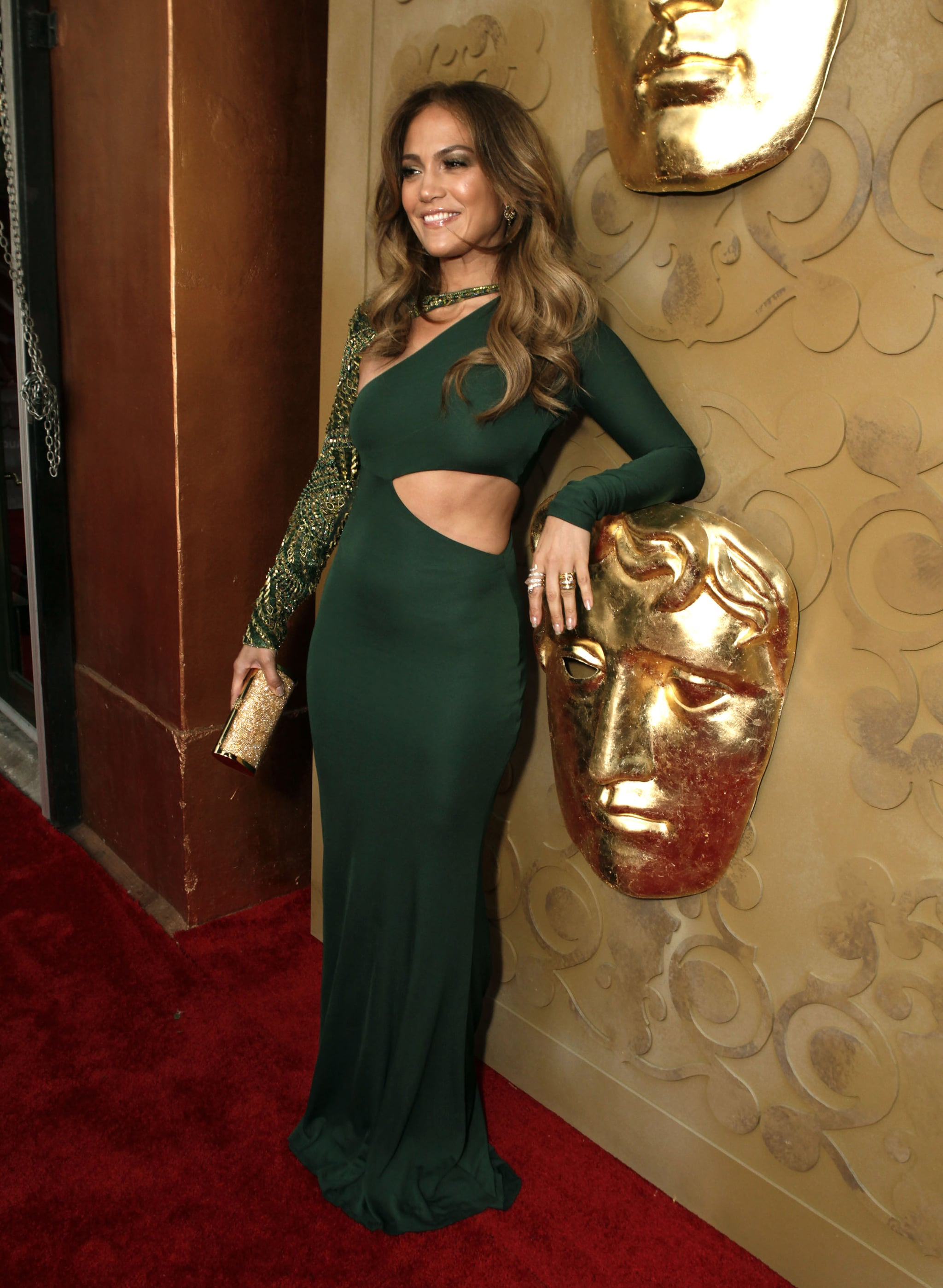 J Lo at the BAFTA Brits to Watch event in LA.