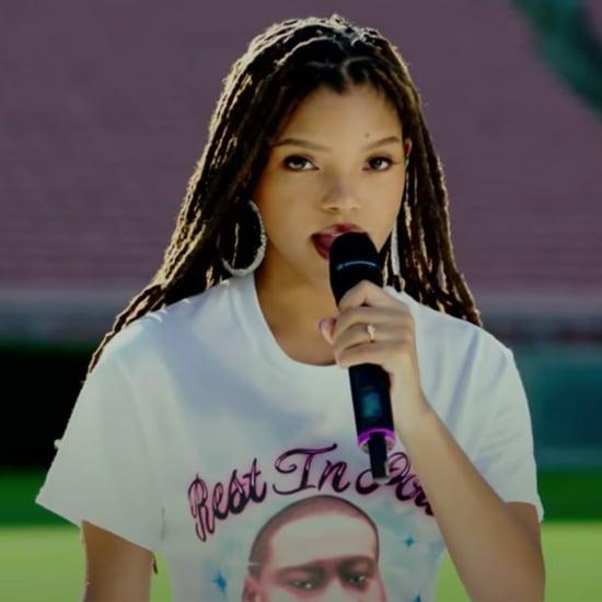 Chloe x Halle NFL Kickoff National Anthem Performance Video