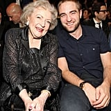 Betty White and Robert Pattinson