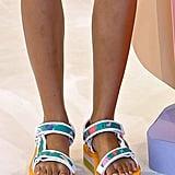 Tanya Taylor Shoes on the Runway at New York Fashion Week