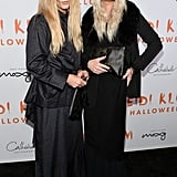 Neil Patrick Harris and David Burtka Dressed As Mary-Kate and Ashley Olsen For Halloween