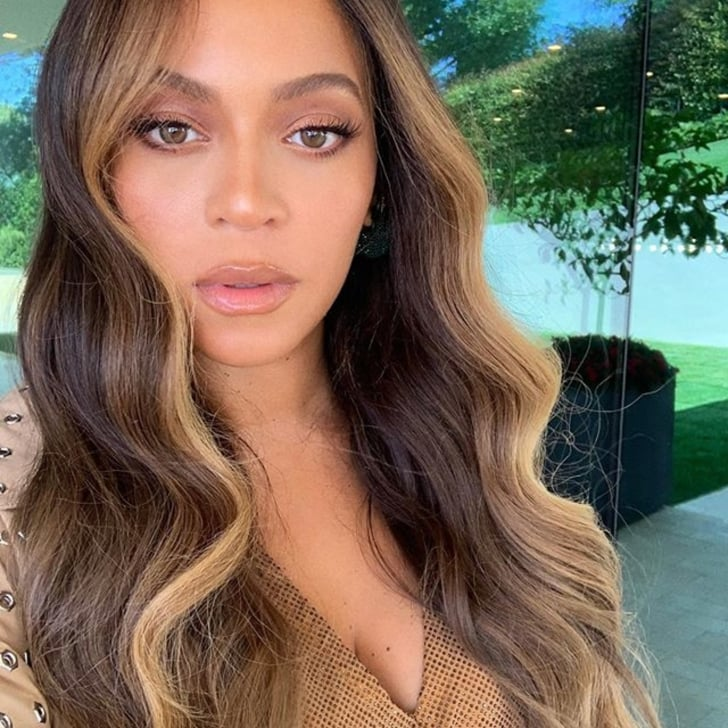 Beyonce S Hair Color With Money Piece Highlights Popsugar