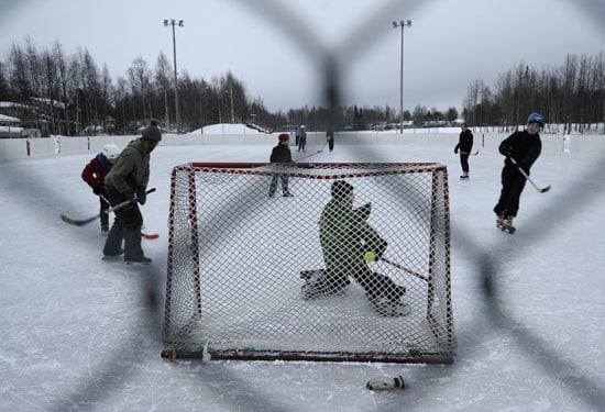 Get Your Vitamin H: Outdoor Hockey