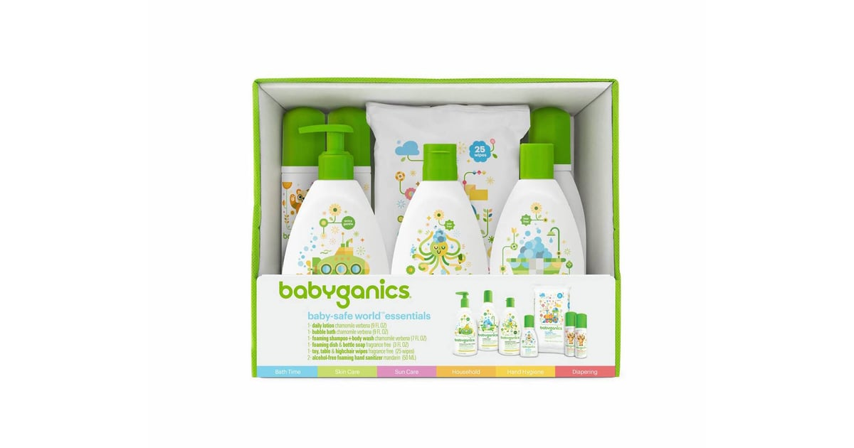 Babyganics Baby Safe World Essentials Kit Cream with Honey Ceramide for Intensive Hydration and Restoring 1.7 oz by COSRX