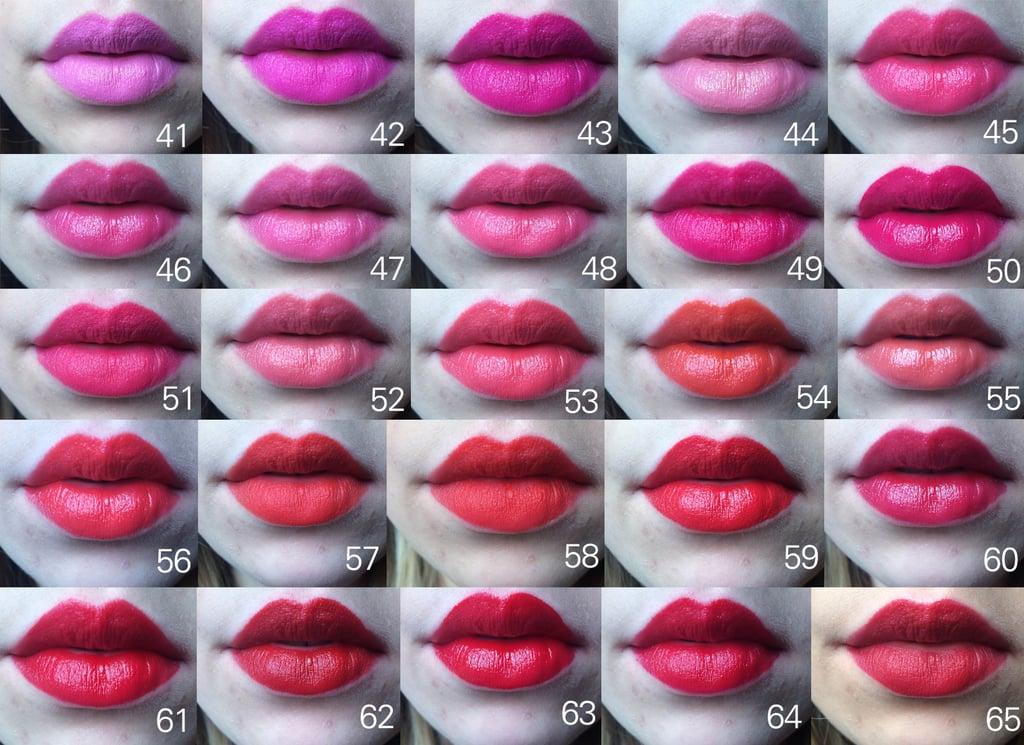 Sephora matte lipstick colors