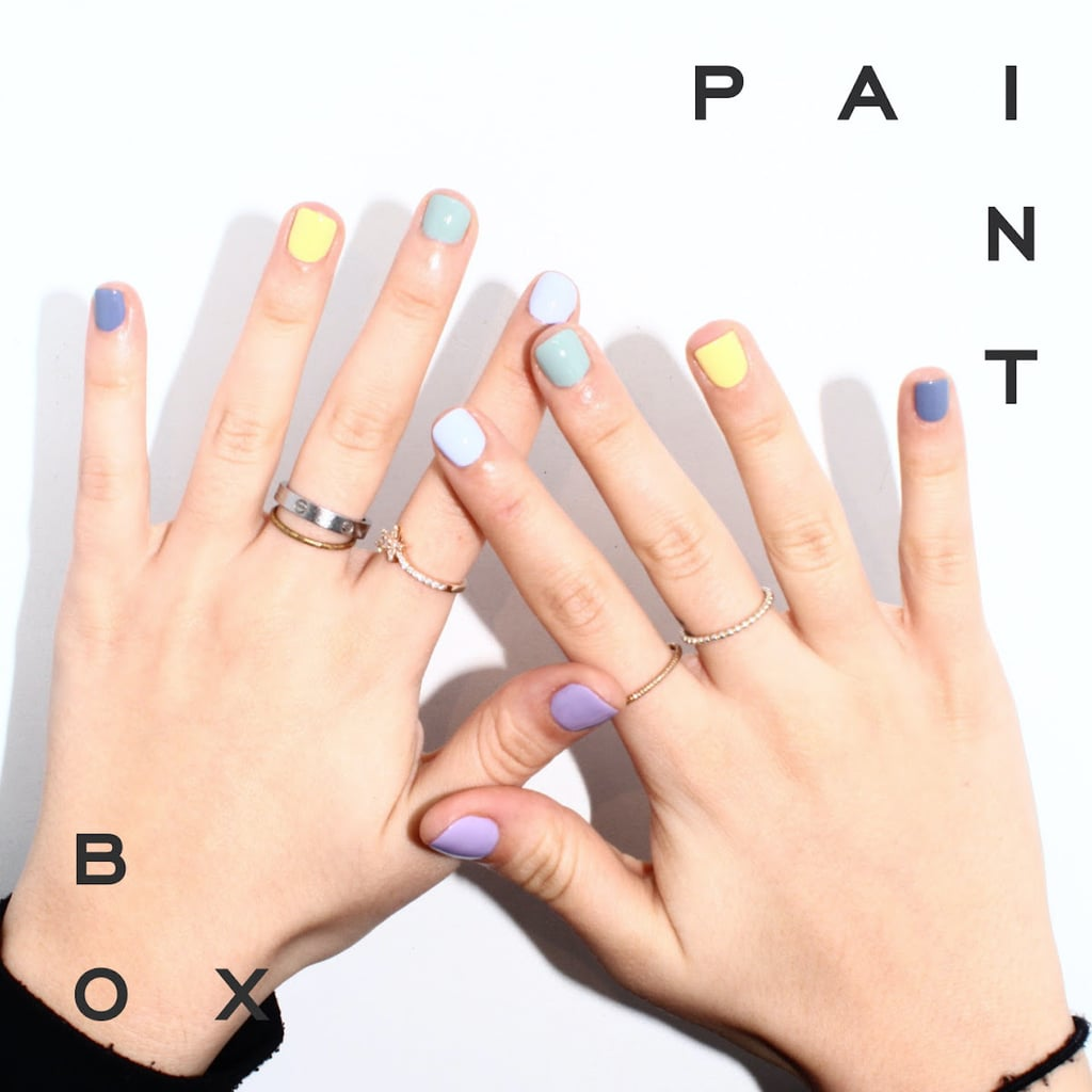 "I Tried the ""Skittles"" Nail Trend, and I'm Obsessed With the Mismatched Look"