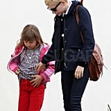 Michelle Williams and Matilda Ledger were out the day after the Oscars.