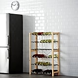 Ivar Shelving Unit With Bottle Racks