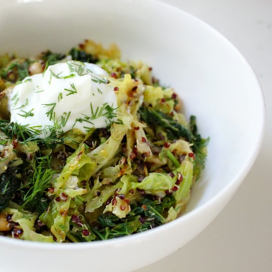 Martha Stewart's Toasted Quinoa and Cabbage Recipe